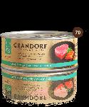 Grandorf Филе тунца с лососем, 70 г