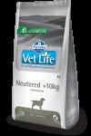 Vet Life Dog Neutered +10kg