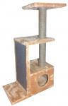 Домик ДЖЕРРИ № 54 с плоской когтеточкой h-105 см
