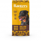 Banters Adult Large Breeds для взрослых собак крупных пород с курицей и рисом