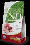 Farmina N&D для стерилизованных кошек Chicken & Pomegranate Neutered