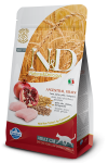 Farmina N&D Low Grain для взрослых кошек Chicken & Pomegranate Adult