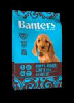 Banters Puppy Junior Lamb для щенков всех пород с ягненком и рисом