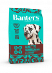 Banters Adult Dog Salmon для взрослых собак всех пород с лососем и картофелем