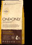 One & Only Adult - Duck корм для взрослых собак всех пород с уткой и бурым рисом.