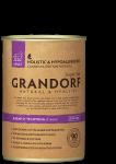 Grandorf консервы для собак. Кабан и Телятина
