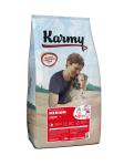 Karmy Medium Junior - корм с индейкой для щенков средних пород до 1года.