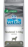 Vet Life Dog Neutered 1-10kg