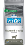 Vet Life Dog Neutered 1-10kg